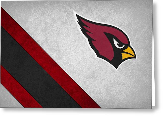 Arizona Cardinals Greeting Card by Joe Hamilton