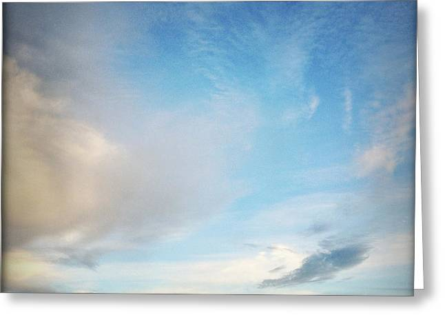 Wispy Greeting Cards - Clouds Greeting Card by Les Cunliffe