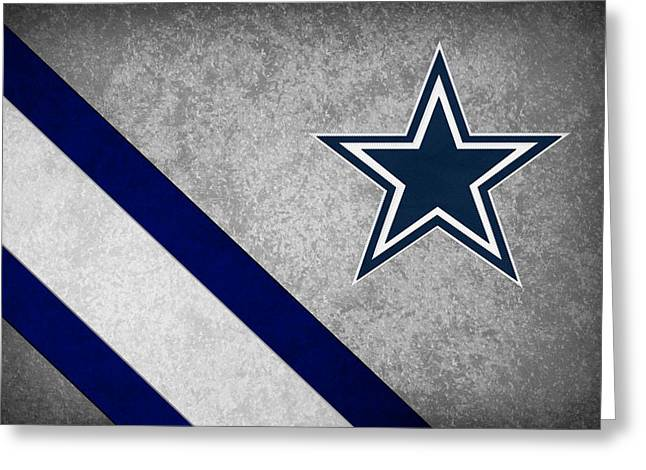 Christmas Greeting Greeting Cards - Dallas Cowboys Greeting Card by Joe Hamilton