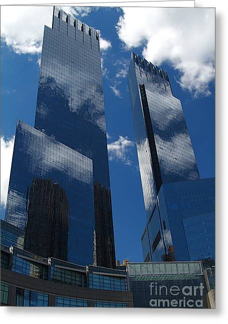 Nyc Architecture Greeting Cards - New York City Greeting Card by ELITE IMAGE photography By Chad McDermott