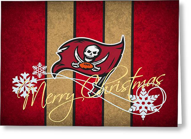 Tampa Bay Greeting Cards - Tampa Bay Buccaneers Greeting Card by Joe Hamilton
