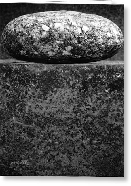 Stones Photographs Greeting Cards - Untitled Greeting Card by Didier Gaillard