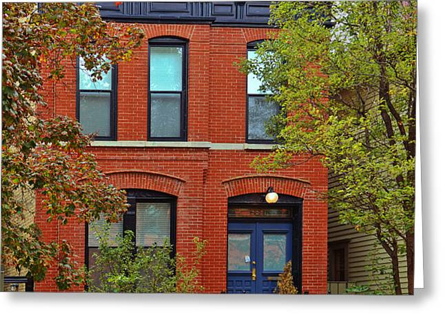 22 W Eugenie St Old Town Chicago Greeting Card by Christine Till
