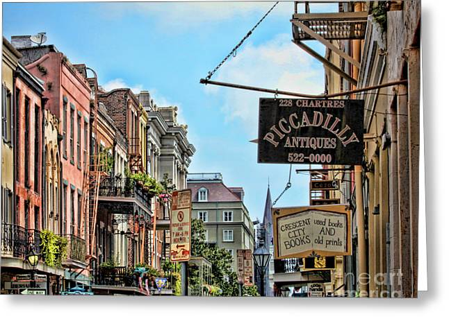 Tn Greeting Cards - 228 Charters New Orleans Greeting Card by TN Fairey