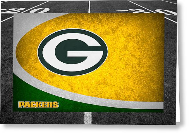 Packers. Greeting Cards - Green Bay Packers Greeting Card by Joe Hamilton