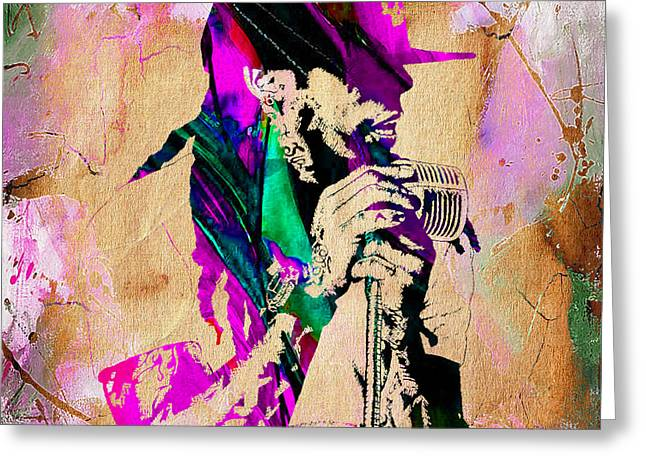 Urban Greeting Cards - Lil Wayne Collection Greeting Card by Marvin Blaine