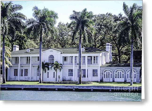 Historic Home Greeting Cards - Bay Avenue Greeting Card by Arthur Marcus