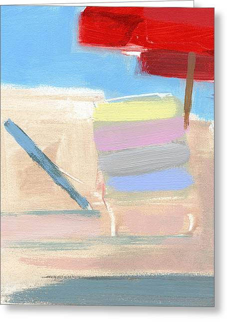 Bethany Beach Greeting Cards - RCNpaintings.com Greeting Card by Chris N Rohrbach