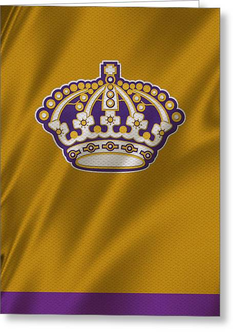 Los Angeles Kings Greeting Cards - Los Angeles Kings Greeting Card by Joe Hamilton
