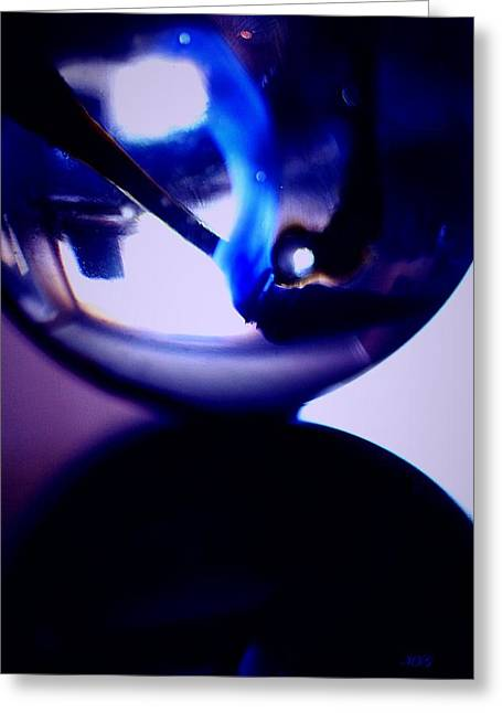 Marble Eye Greeting Cards - Marbles55 Greeting Card by Michael James Greene