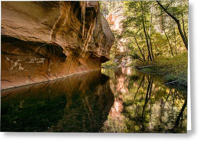 West Fork Greeting Cards - Sedona In The Fall Series Greeting Card by Josh Whalen