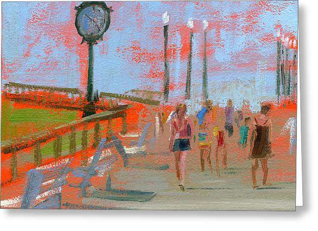 New Jersey Paintings Greeting Cards - RCNpaintings.com Greeting Card by Chris N Rohrbach