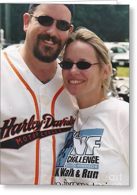 Baseball Shirt Greeting Cards - Bike Week Greeting Card by Jesse Ciazza