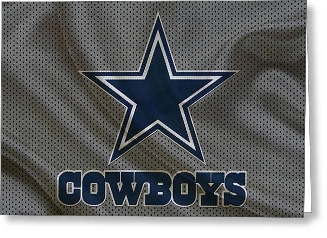Player Photographs Greeting Cards - Dallas Cowboys Greeting Card by Joe Hamilton