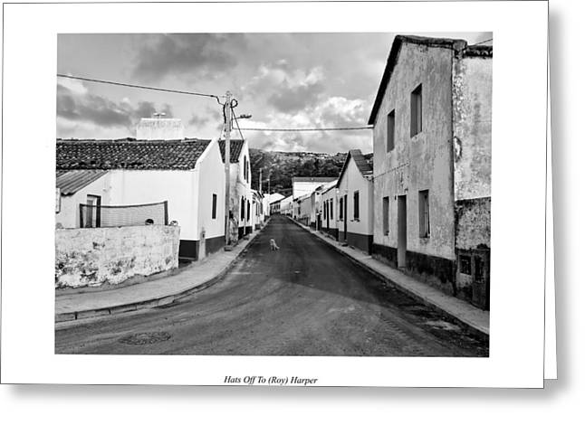 Over the Hills and Far Away Greeting Card by Joseph Amaral