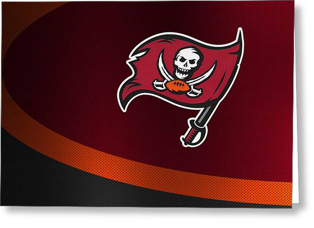 Buccaneer Greeting Cards - Tampa Bay Buccaneers Greeting Card by Joe Hamilton