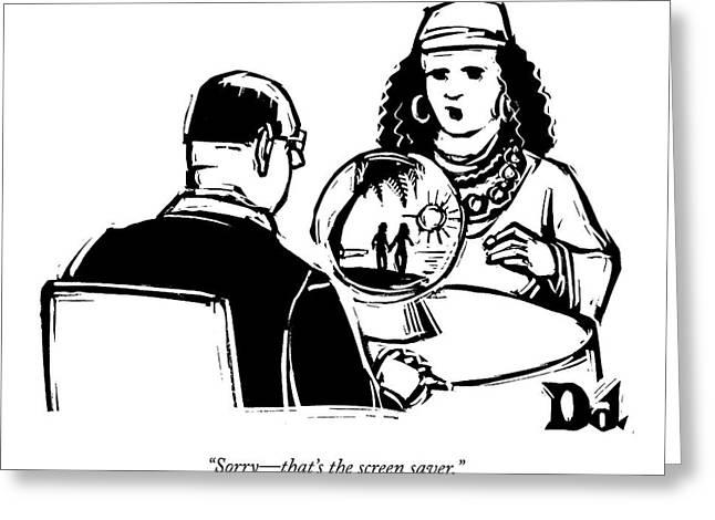 Untitled Greeting Card by Drew Dernavich
