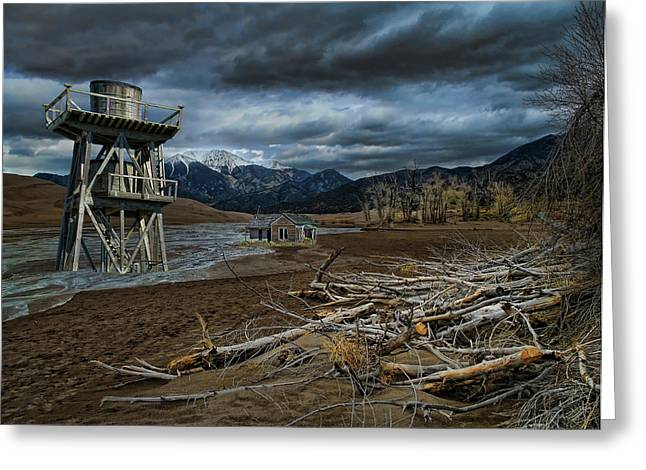 Watertower Greeting Cards - 2511 Greeting Card by Peter Holme III