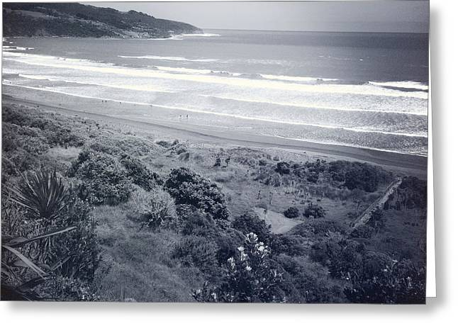 Beach Photograph Greeting Cards - Beach Greeting Card by Les Cunliffe