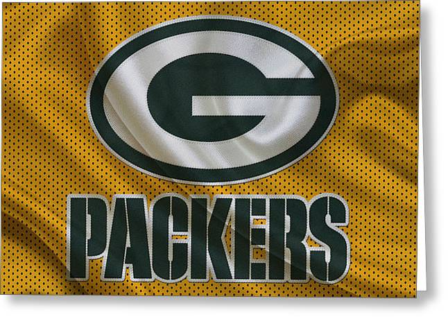 Team Greeting Cards - Green Bay Packers Greeting Card by Joe Hamilton
