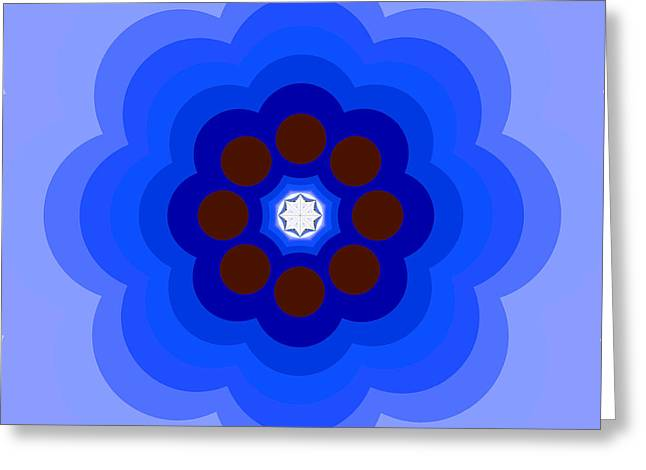 Abstract Style Greeting Cards - The kaleidoscope Greeting Card by Odon Czintos