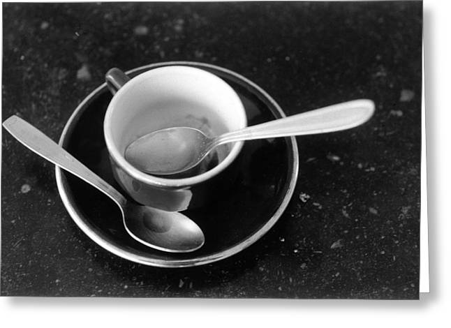 Cup Photographs Greeting Cards - Untitled Greeting Card by Didier Gaillard