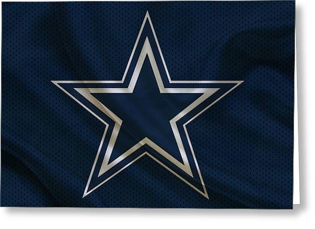 Team Greeting Cards - Dallas Cowboys Greeting Card by Joe Hamilton