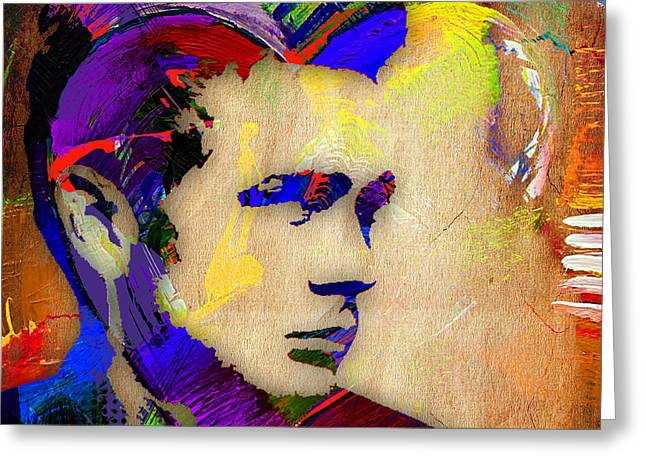 Icon Greeting Cards - James Dean Collection Greeting Card by Marvin Blaine
