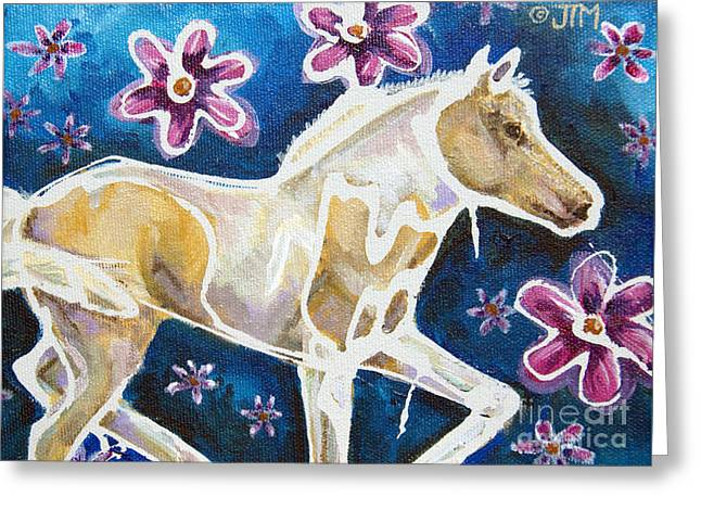 Paso Fino Horse Greeting Cards - #27 June 18th Greeting Card by Jonelle T McCoy