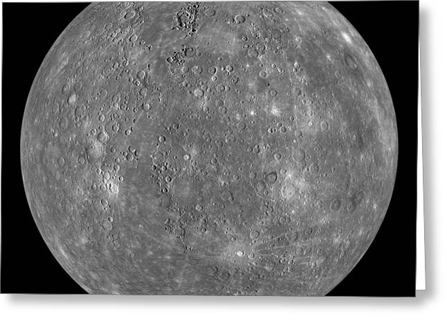 Interstellar Space Greeting Cards - Mercury Greeting Card by Celestial Images