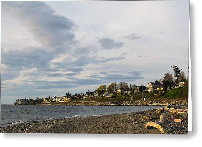 Puget Sound Greeting Cards - 27th Ave Living Greeting Card by Michael DeMello