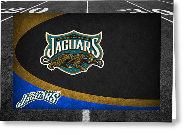 Jacksonville Greeting Cards - Jacksonville Jaguars Greeting Card by Joe Hamilton