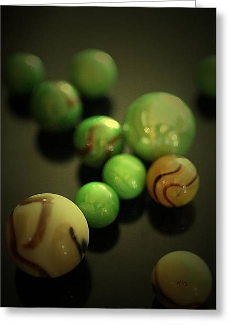 Marble Eye Greeting Cards - Marbles8 Greeting Card by Michael James Greene