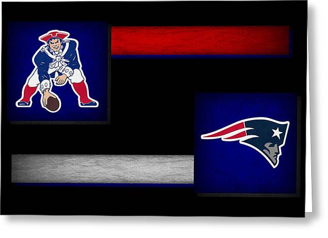 Patriot Greeting Cards Greeting Cards - New England Patriots Greeting Card by Joe Hamilton