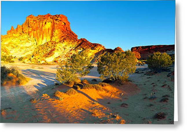 Rainbow Photographs Greeting Cards - Rainbow Valley Greeting Card by Bill  Robinson