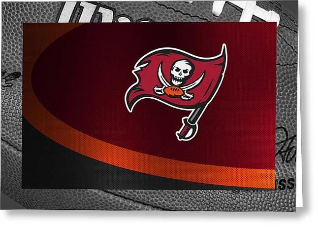 Players Greeting Cards - Tampa Bay Buccaneers Greeting Card by Joe Hamilton