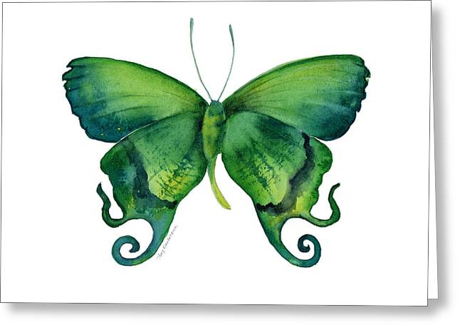 Arcas Greeting Cards - 29 Arcas Butterfly Greeting Card by Amy Kirkpatrick