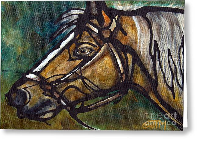 Paso Fino Horse Greeting Cards - #29 June 20th Greeting Card by Jonelle T McCoy