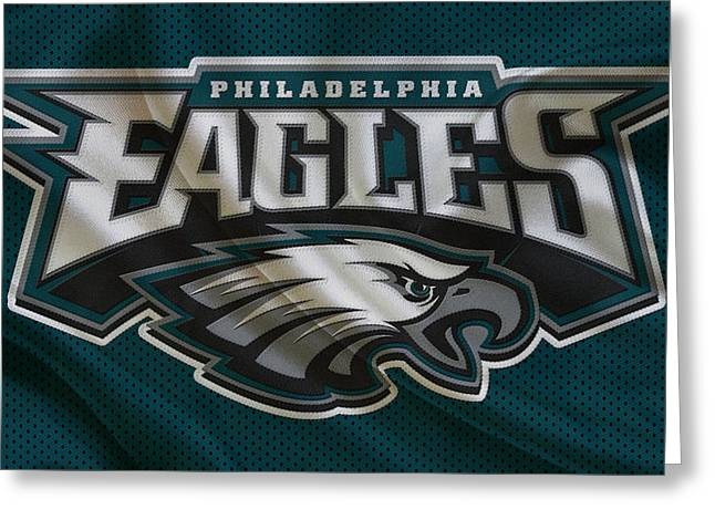Field Goal Greeting Cards - Philadelphia Eagles Greeting Card by Joe Hamilton