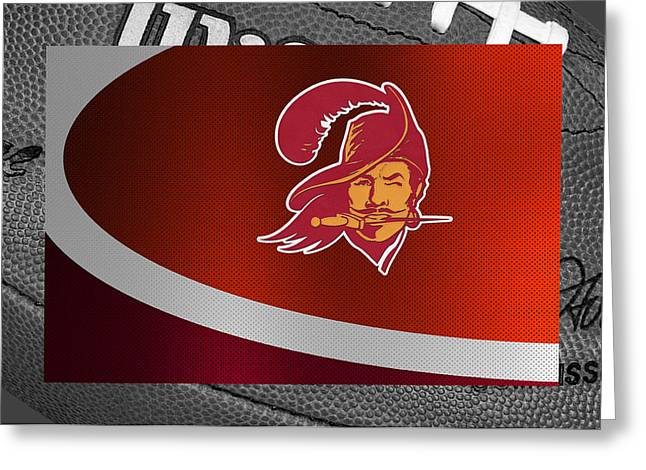 Stadium Greeting Cards - Tampa Bay Buccaneers Greeting Card by Joe Hamilton