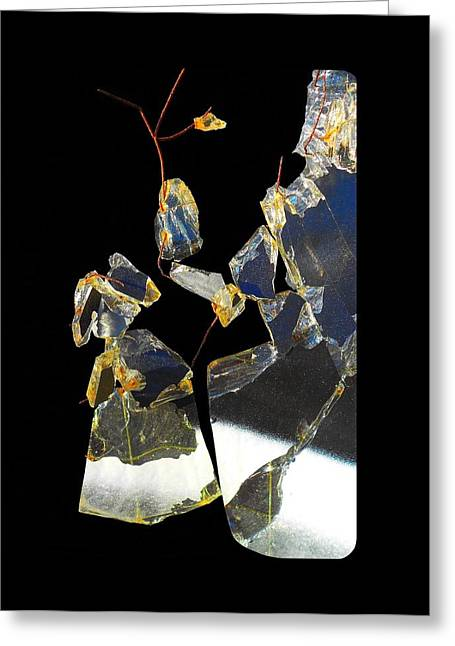 Rust Glass Greeting Cards - Untitled  Greeting Card by Vincent Cherib