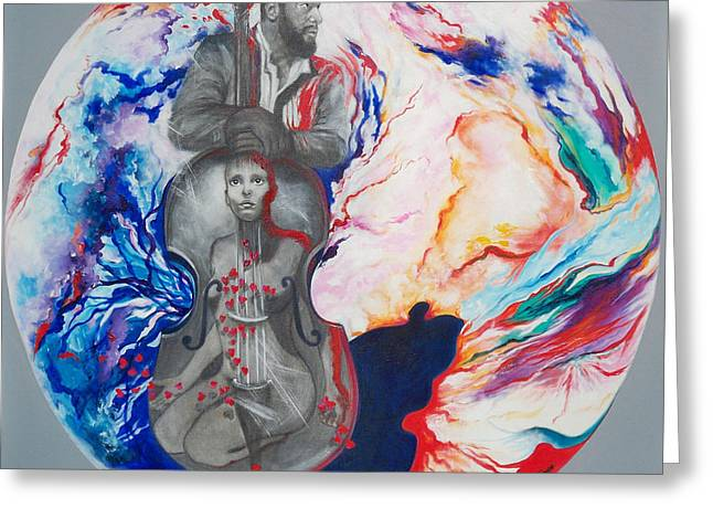 Cd Cover Greeting Cards - 294  Soul Seduction Greeting Card by Sigrid Tune
