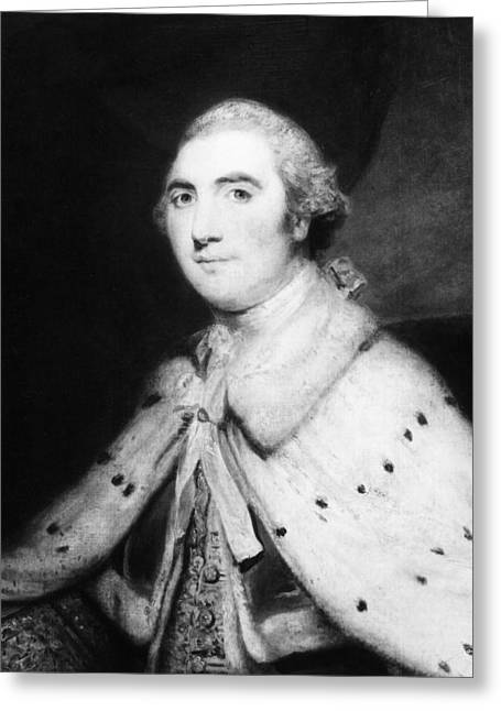 2nd Earl Of Shelburne(1737-1805) Greeting Card by Granger