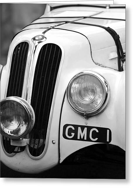D.w Greeting Cards - 1937 Frazer Nash BMW 328 Greeting Card by Jill Reger