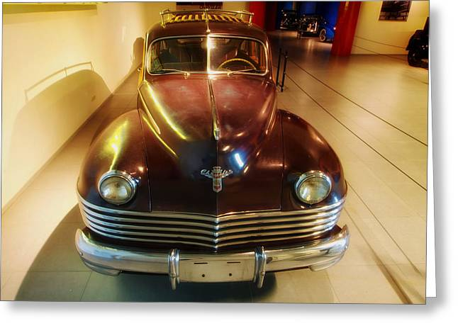 1942 Chrysler Town And Country Greeting Card by Mountain Dreams