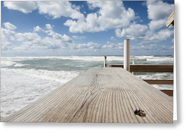Beach Photography Greeting Cards - 4 Greeting Card by Yaniv Eitan