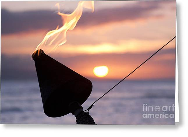 Lahaina Greeting Cards - A Sense Sublime Greeting Card by Sharon Mau