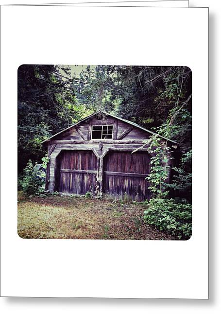 Barn Digital Art Greeting Cards - Abandoned Barn Greeting Card by Natasha Marco
