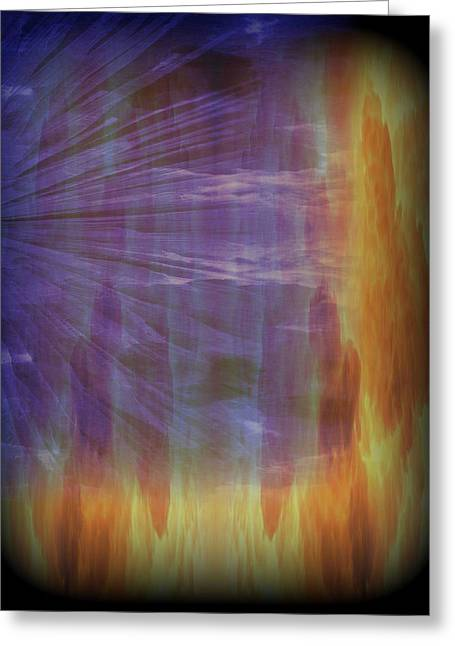 Reflective Greeting Cards - Abstract 59 Greeting Card by J D Owen