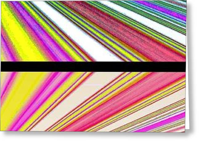 Abstract Fusion 221 Greeting Card by Will Borden